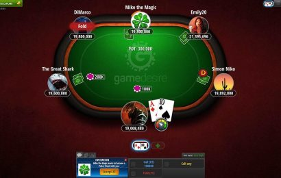 Play Poker At The Casino For The First Time